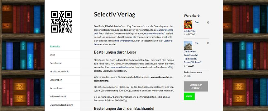 referenz website verlag webshop woocommerce wordpress
